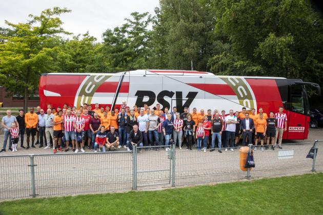 Cooperation in Brainport region: VDL Bus & Coach delivers new team coach for PSV Eindhoven